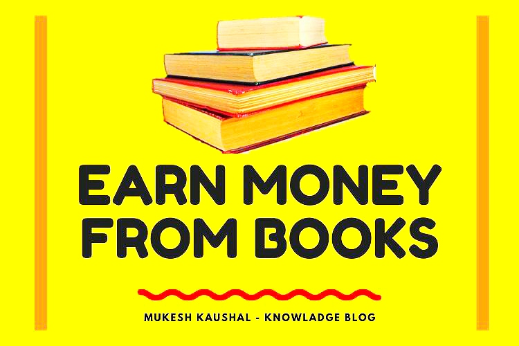 Earn money from books