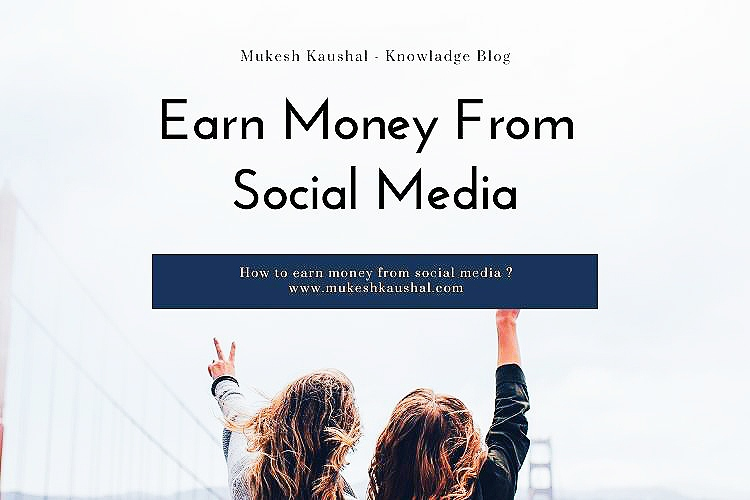 earn money from social media