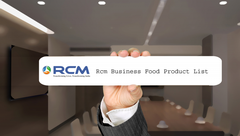 Rcm Food and Grocery